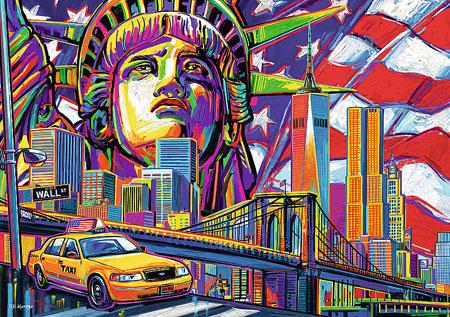 Farben von New York