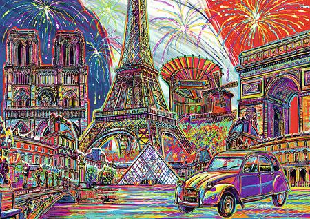 Farben von Paris