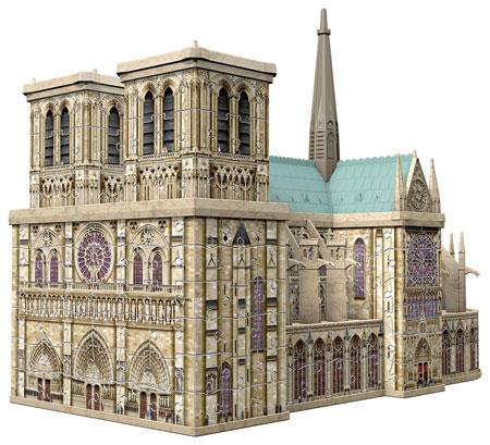 3D Bauwerk - Notre Dame