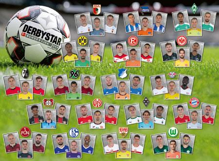 Topspieler der Bundesliga (XXL-Teile)