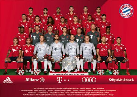 FC Bayern München Saison 2018/2019