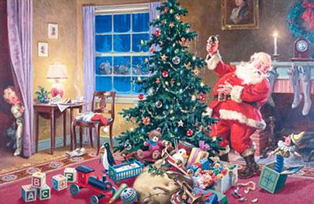 piatnik 5661 weihnachten santa claus. Black Bedroom Furniture Sets. Home Design Ideas