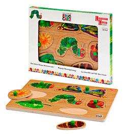 puzzle raupe nimmersatt