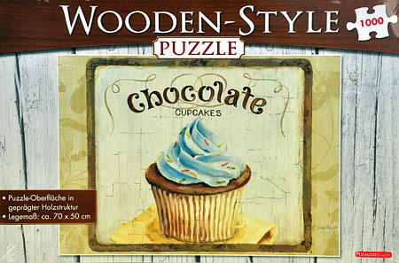 Chocolate Cupcakes (Wooden Style)