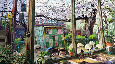 spring-in-sakuragaoka