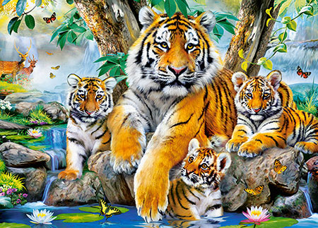 Tiger am Fluss