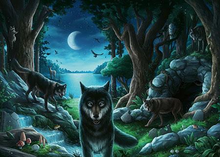 Exit Puzzle - Wolfsgeschichten