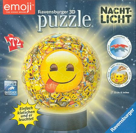3D Nachtlicht - Emoji