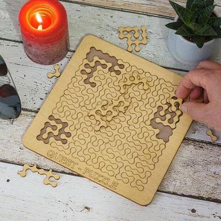 Quest Puzzle - verrückter Puzzlespaß