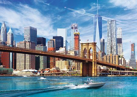 Ansicht von New York City