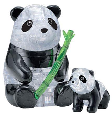 3D Kristallpuzzle - Pandapaar