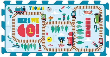 Thomas und seine Freunde (Schaumstoffpuzzle)