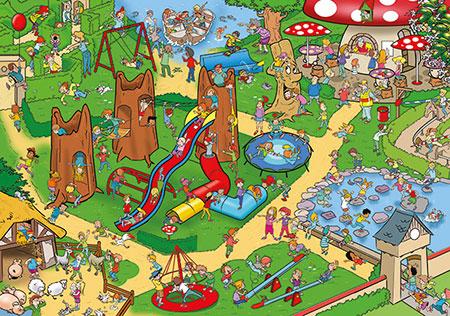 Wacky World - Kinderspielplatz