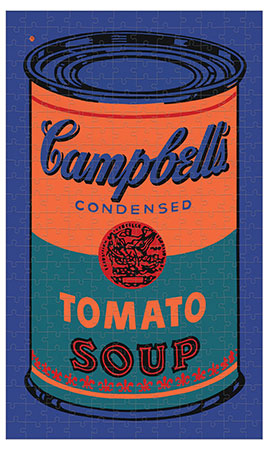 Andy Warhol - Campbell´s Tomatensuppen Dose (blau)