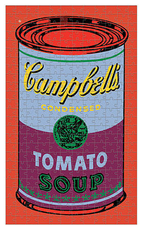 Andy Warhol - Campbell´s Tomatensuppen Dose (rot)
