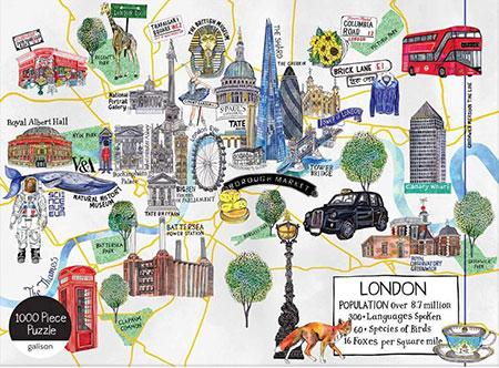 Londonkarte