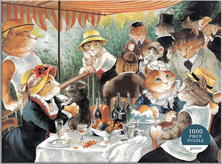 Miausterstücke der Kunst - Das Frühstück der Ruderer