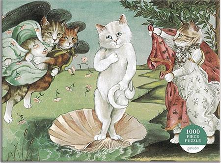 Miausterstücke der Kunst - Die Geburt der Venus
