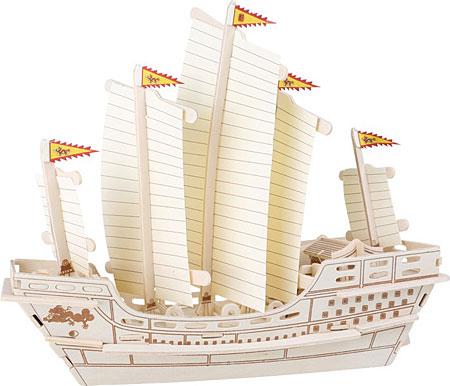 "3D Puzzle - Segelschif ""Zheng He"""