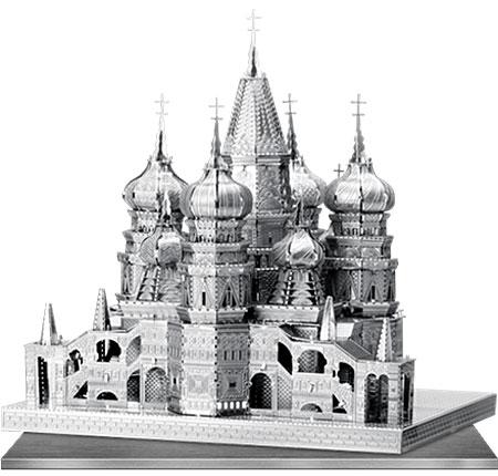 Metal Earth: Iconx - Basilius Kathedrale