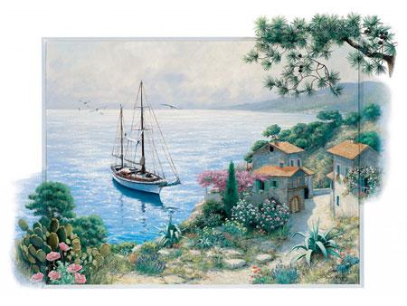 Malerische Bucht