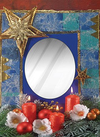 Spiegelpuzzle - Kerzenschein