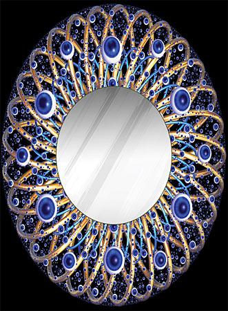 Spiegelpuzzle - Pupille
