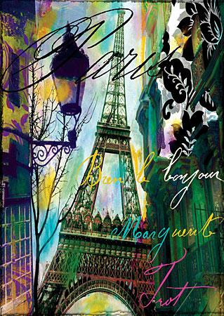 Grüße vom Eiffelturm