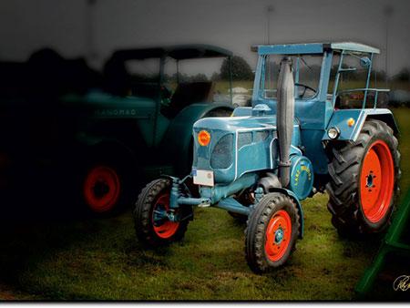 Oldtimer Traktor - Bulldog