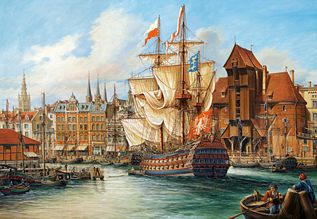 The old Gdansk