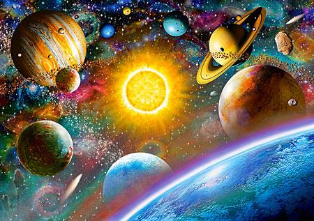 Galaktische Reise durch das Universum