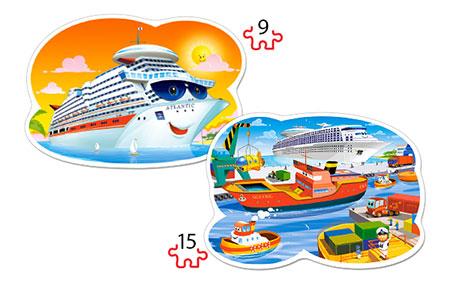 Reise mit dem Kreuzfahrtschiff