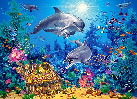 Delfin-Familie