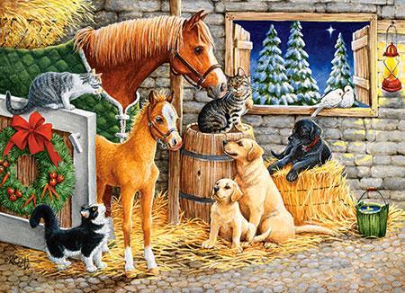 Verspielte Tiere
