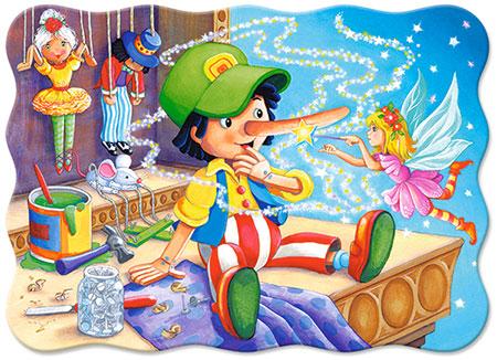 Pinocchios verzauberte Nase