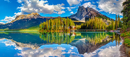 Emerald Lake in Kanada