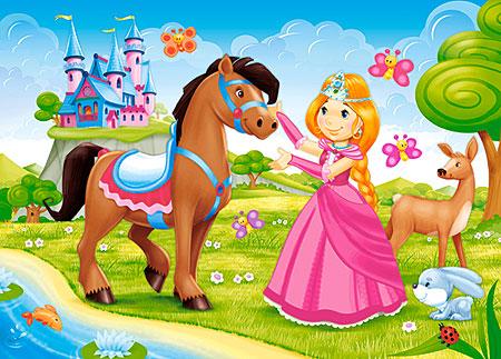 die-kleine-prinzessin-und-ihr-pferd