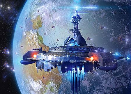 Alien-Raumstation
