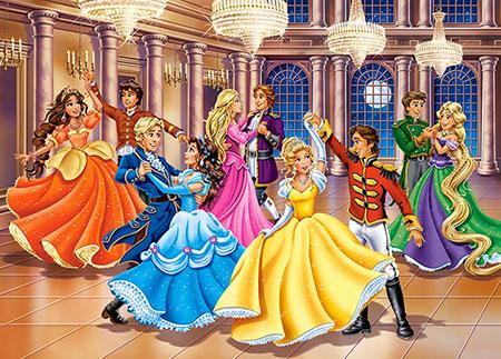 Prinzessinnen-Ball