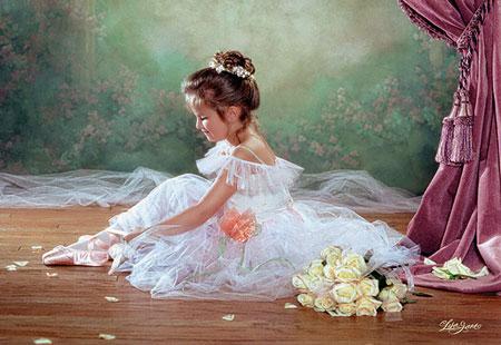 castorland friedliche ballerina. Black Bedroom Furniture Sets. Home Design Ideas