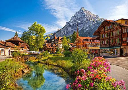 Kandersteg in der Schweiz