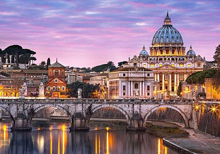 Blick auf Vatikanstadt