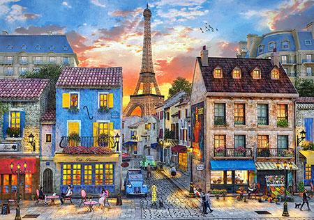 Abends in Paris