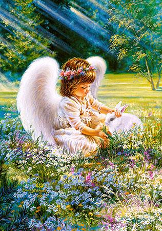kleiner-engel-mit-kaninchen
