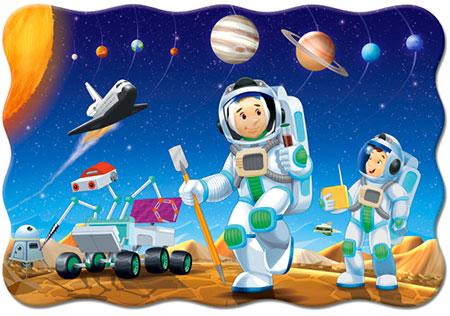 Ankunft auf dem fernen Planeten