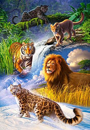 Gefährliche Großkatzen