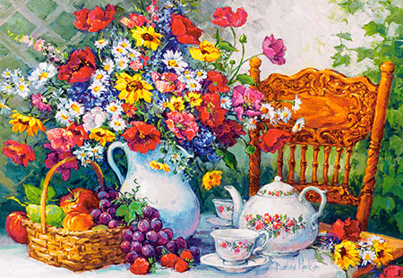 Zeit für eine Tasse Tee