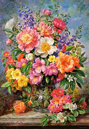 Blumen im Sonnenglanz