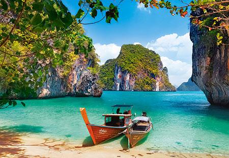 Insel im Indischen Ozean
