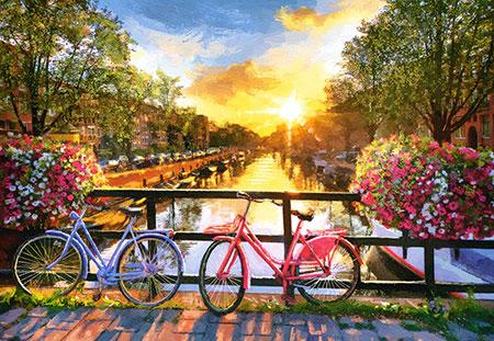 malerisches-amsterdam-mit-fahrradern